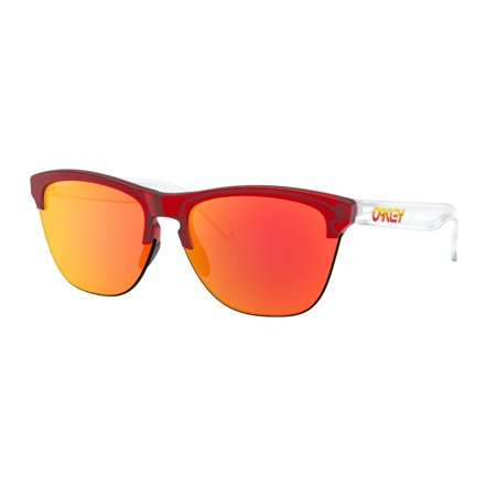 Sunglasses, Frogskins Lite, Matte Translucent Red With Prizm Ruby (Oakley Frogskins Damen)