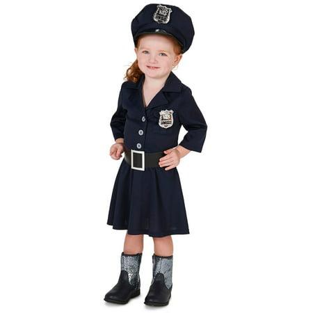 Police Girl Halloween (Child Police Girl Costume)