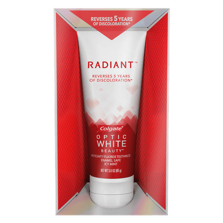 Colgate Optic White Radiant Whitening Toothpaste - 3 ounce