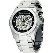 Armitron Men's Stainless Steel Automatic Skeleton Watch