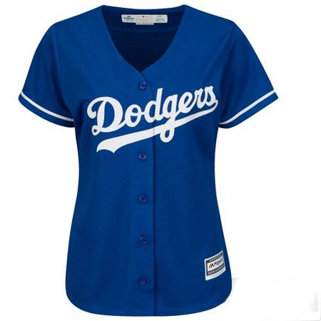 - Los Angeles Dodgers Majestic Women's Cool Base Jersey - Royal -