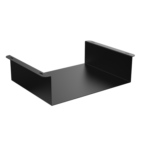 Oeveo Under Mount 444 - 14W x 4H x 11D | Under Desk Computer Mount for Lenovo ThinkCentre SFF and Dell Optiplex SFF Computers |
