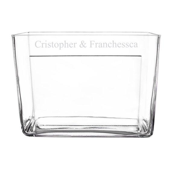 Personalized Glass Photo Vase Walmart