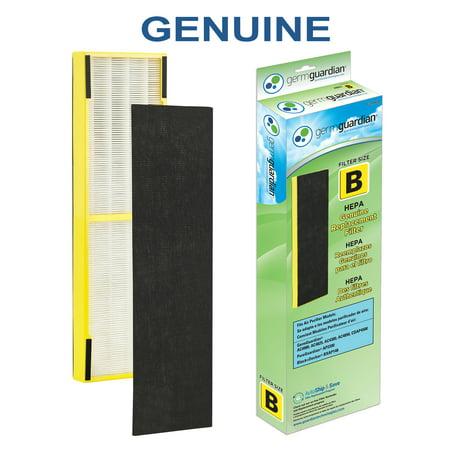GermGuardian FLT4825 HEPA Replacement Filter B (yellow)