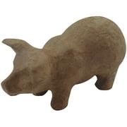 """Paper-Mache Figurine 4.5""""-Pig"""