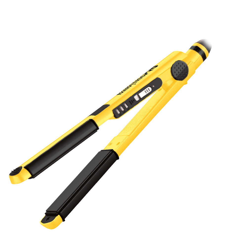 BaByliss U-Styler Flat Curl Iron Yellow Limited Edition - HT-BABY2071