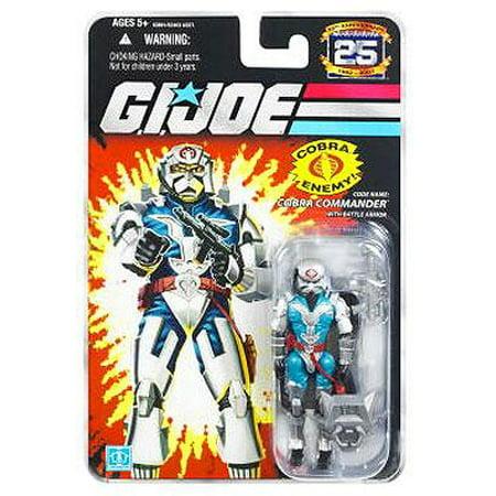 GI Joe 25th Anniversary Wave 6 Armored Cobra Commander Action Figure