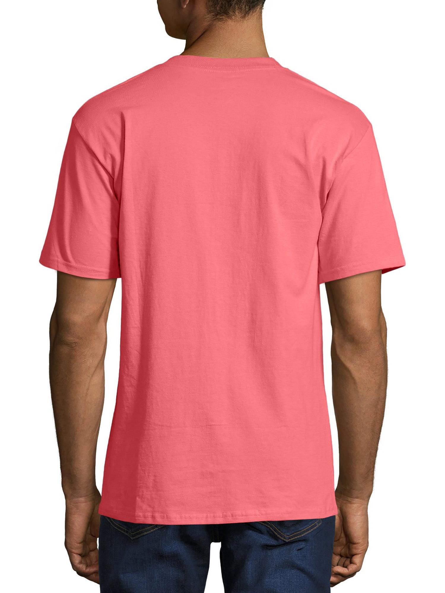 98e77602a Hanes - Hanes Men's Beefy-T Crew Neck Short Sleeve T-Shirt, up to 6xl -  Walmart.com