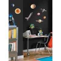 RoomMates Space Travel Peel and Stick Wall Decals