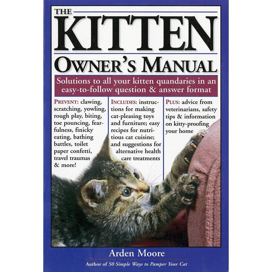 Storey Publishing The Kitten Owner's Manual