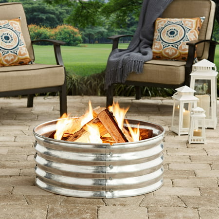 Better Homes And Gardens 36 Quot Galvanized Fire Ring