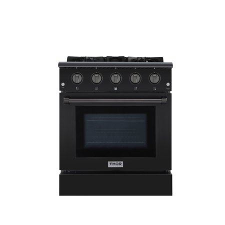 Thor Kitchen HRG3080 30 Inch Wide 4.2 Cu. Ft. Built-In Natural Gas Range with