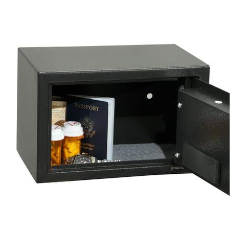 Honeywell 0.35 cu. ft. DOJ Approved Steel Security Safe with Digital Lock, 5101DOJ
