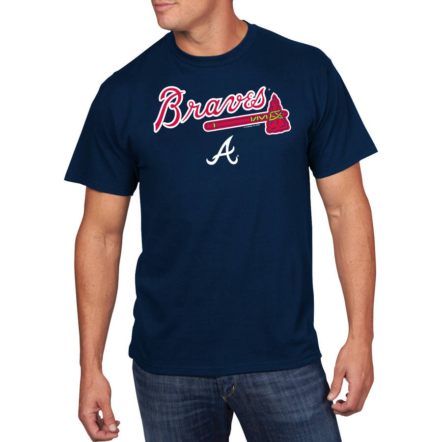 Big Men's MLB Atlanta Braves Team Tee