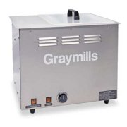 GRAYMILLS BTU-4 Parts Washer,Ultrasonic,4 Gal Tank Cap