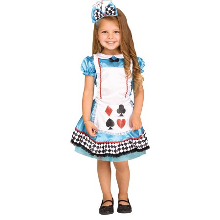 Wild Wonderland Girl Costume - Alice In Wonderland Costume For Girls