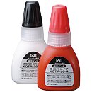 Xstamper 24217 WHITE, Industrial Refill Ink, 20ml Bottle Brown Bottled Ink Refill