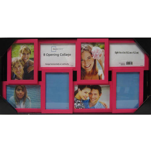 Mainstays 8-Opening Collage Frame