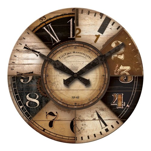 FirsTime Manufactory 10031 Collector Wall Clock