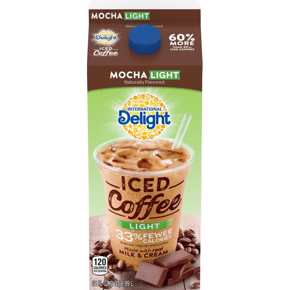 International Delight, Mocha Light Iced Coffee 64 Fl. Oz