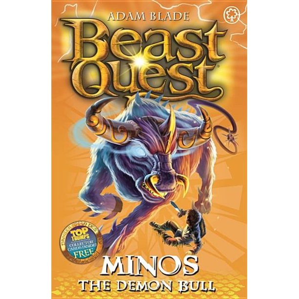 beast quest 50 minos the demon bull  walmart