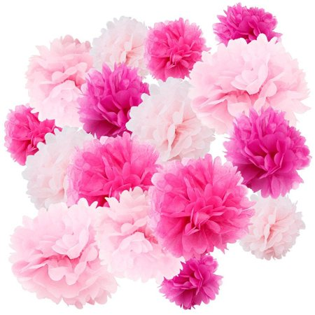Floral Reef Variety Set of 24 (Assorted Pink Color Pack) consisting of 8