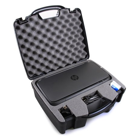 CASEMATIX TOUGH Printer Carry Case Custom Designed to fit HP Officejet 250 Wireless Mobile (Best Printer For Graphic Design)