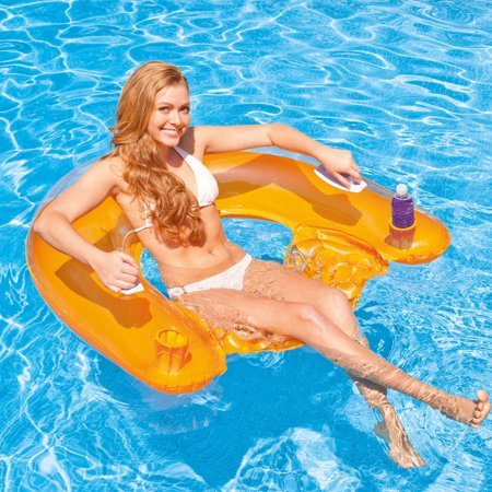 Intex Sit 'n Float Inflatable Tube for Swimming Pools for $<!---->
