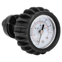 YLSHRF 25PSI 1.6BAR Barometer Air Pressure Gauge for Inflatable Boat Raft Kayak Black,Pressure Gauge, Air Gauge