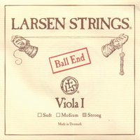 """Larsen up to 16.5"""" Viola A String - Strong Gauge - Alloy Wound Steel Core - Ball End"""
