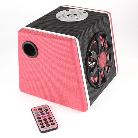 Trapezoid Style TF Card Audio Sound Subwoofer Speaker for MP3 MP4 Music Player