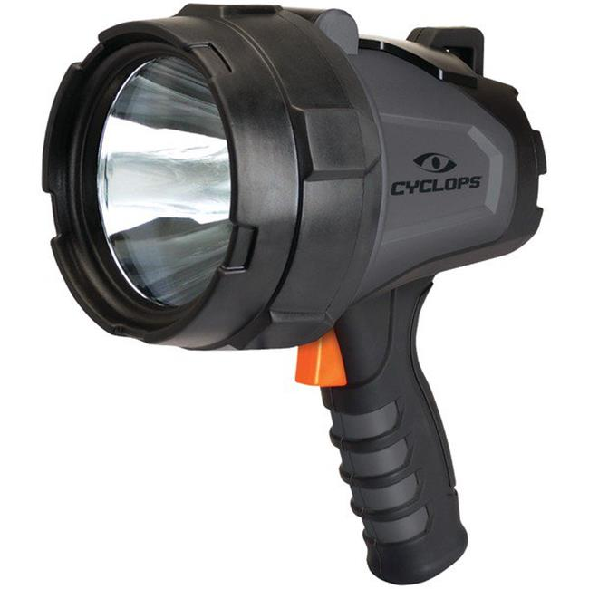 580-Lumen Handheld Rechargeable Spotlight, Black