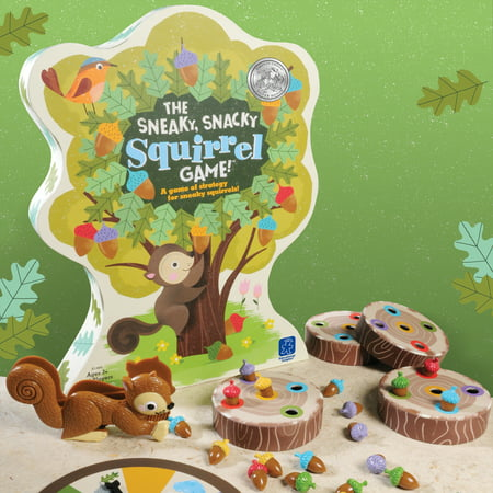Educational Insights The Sneaky, Snacky Squirrel Game - Toddler Educational Games