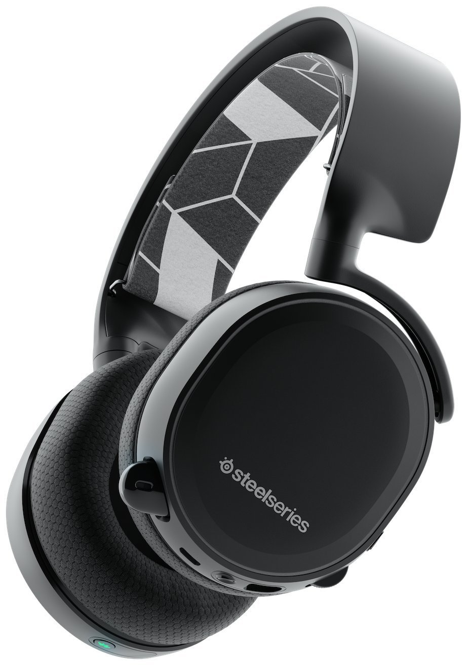 Steelseries Arctis 3 7 1 Surround Bluetooth Wireless Gaming Headset Earphone Android Ios Vr Black Walmart Com Walmart Com