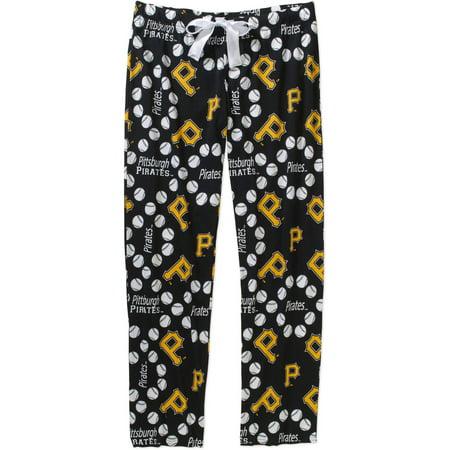 MLB Womens Pittsburg Pirates Knit Sleep Pant](Pirate Pants)