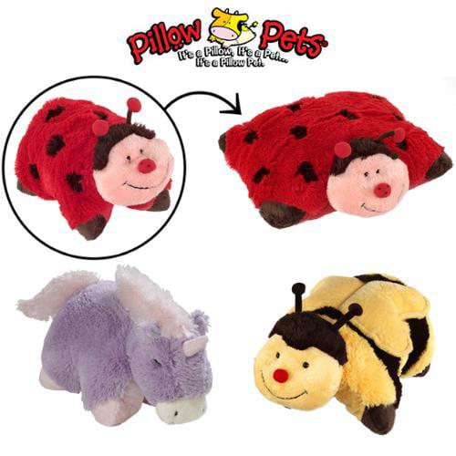 3 Pillow Pets Set Stuffed Animal Large Plush Kids Toys ...