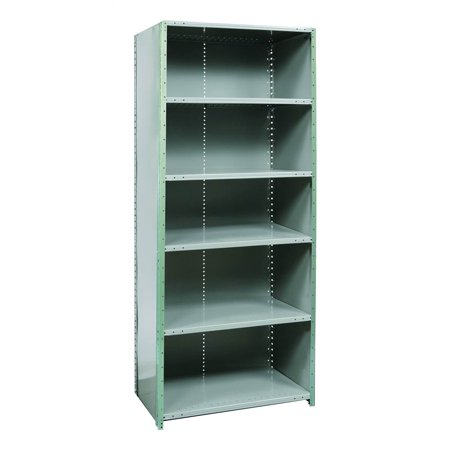 Free Standing Shelving With Five Adjustable Shelves