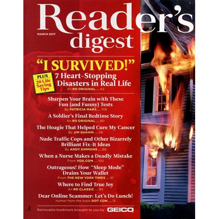Readers Digest Magazine Subscription  3 Years