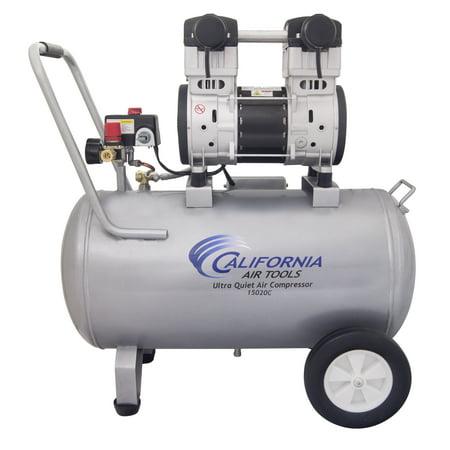 California Air Tools 15020C-22060 Ultra Quiet & Oil-Free 2.0 Hp, 15.0 Gal. Steel Tank Air Compressor (Condor Pressure Switch)