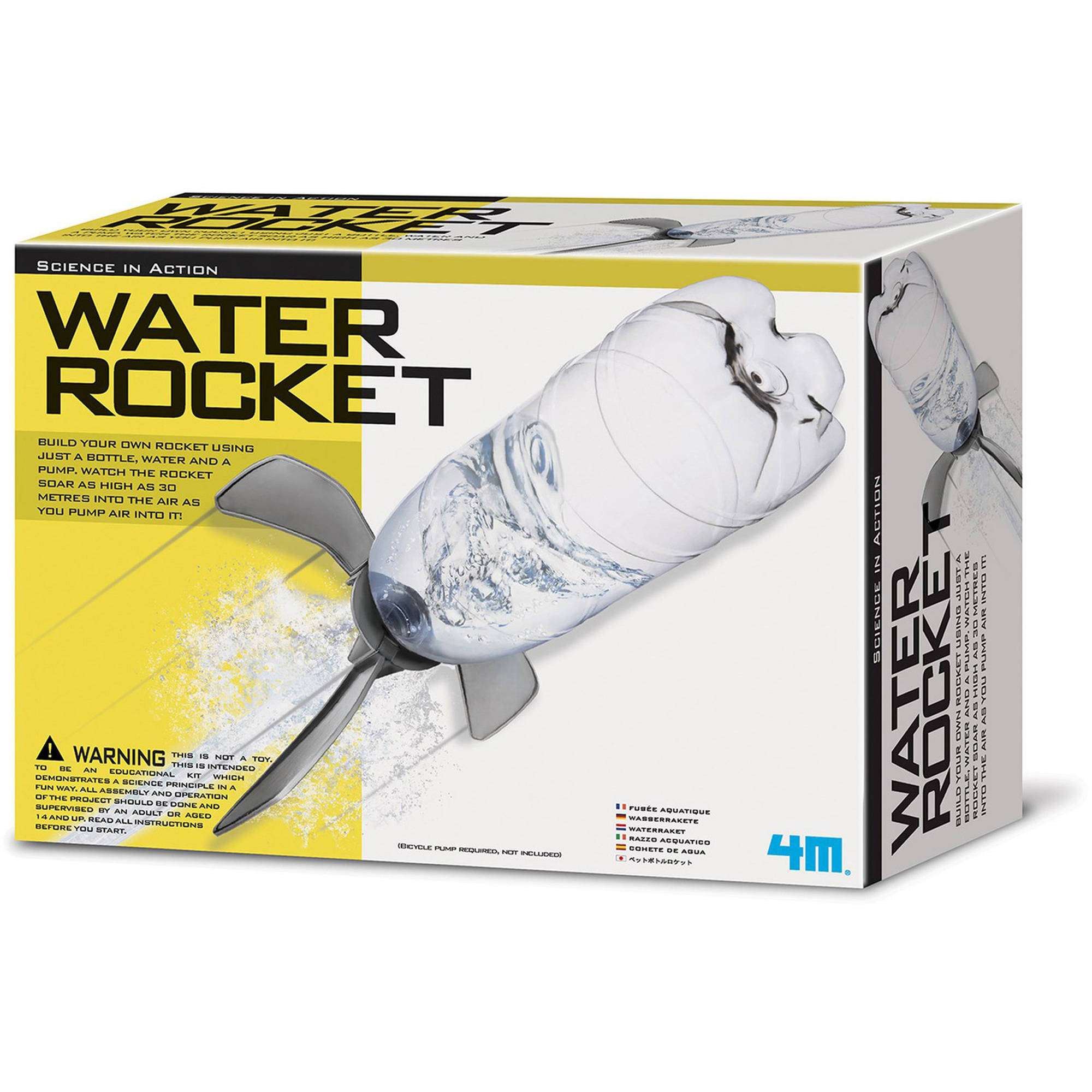 4M Water Rocket Science Kit by 4M