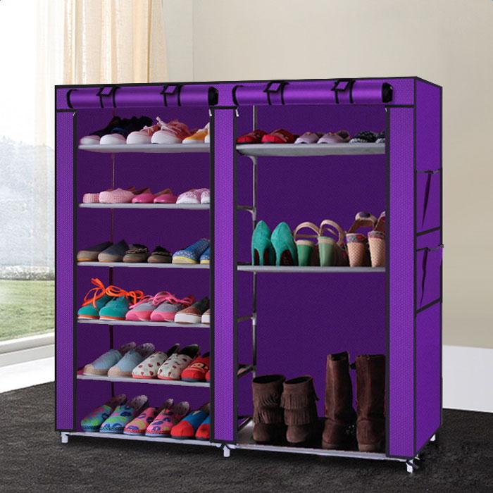 Ktaxon Double Shoe Boot Closet Rack Shelf Storage Organizer Cabinet,9 Layer