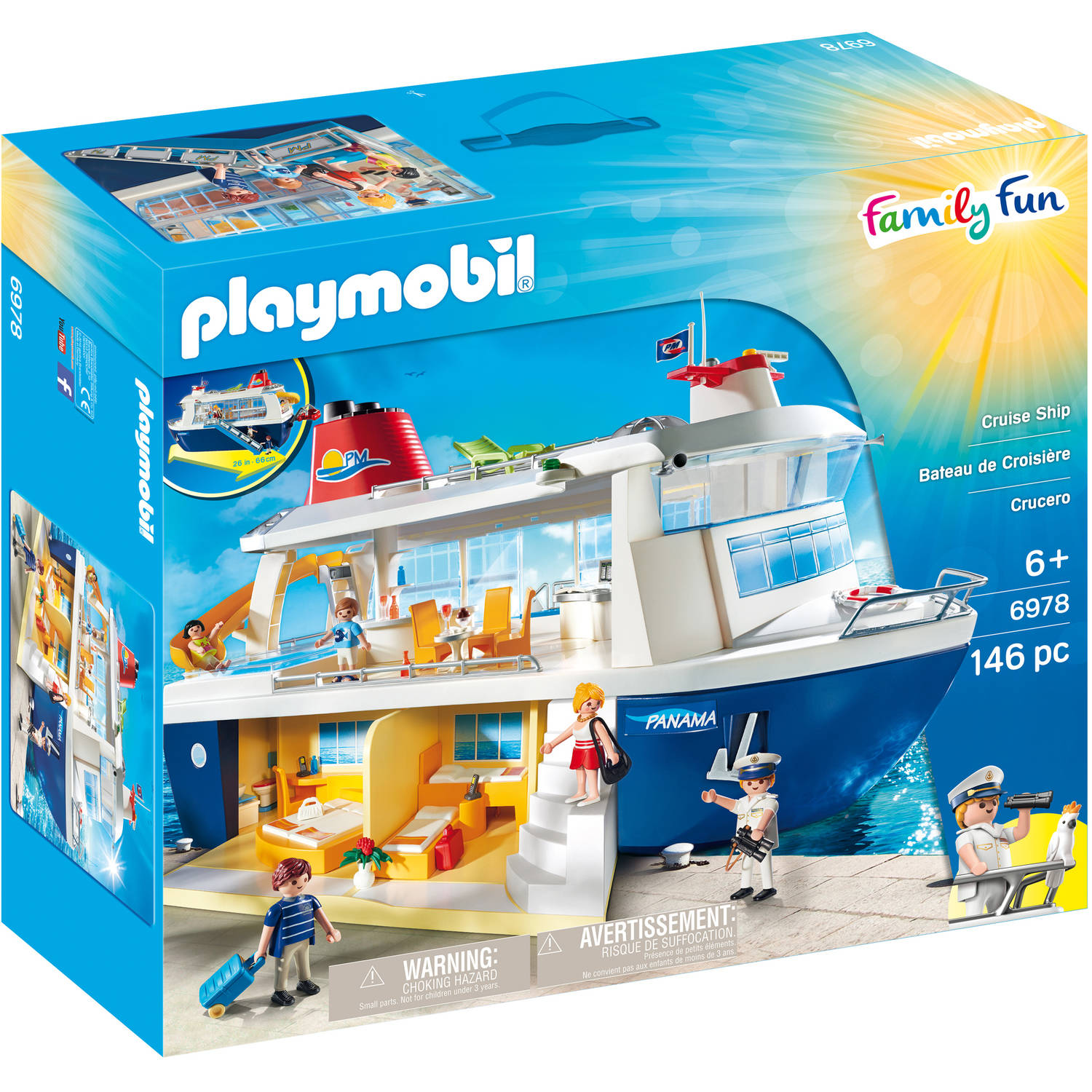 PLAYMOBIL Cruise Ship by