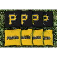 Pittsburgh Pirates All-Weather Cornhole Bag Set