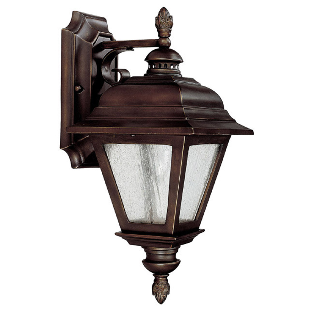 Capital Lighting Brookwood Burnished Bronze 1 Light Outdoor Wall Fixture