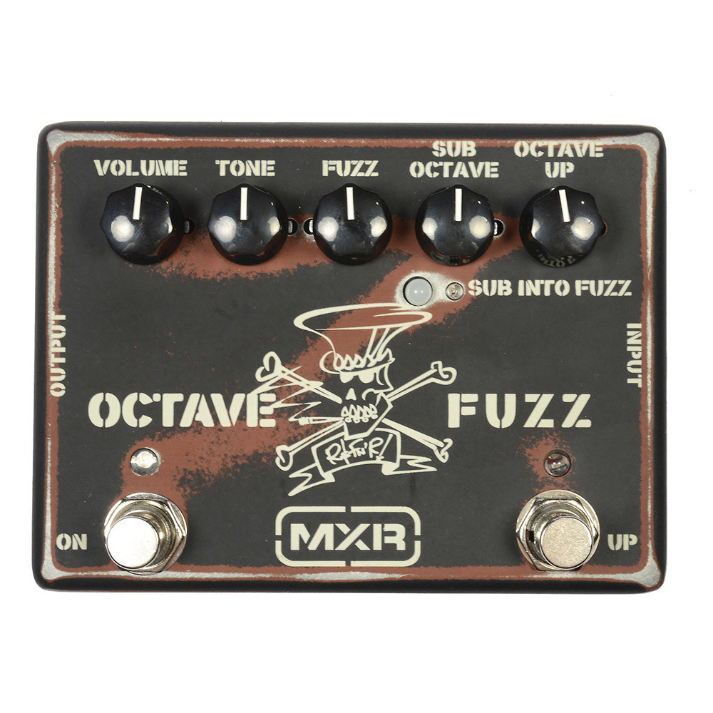MXR SF01 Slash Octave Fuzz Guitar Effect Pedal
