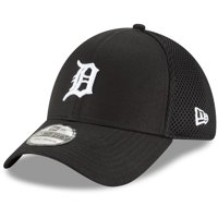 finest selection c699e cc776 Product Image Detroit Tigers New Era Neo 39THIRTY Unstructured Flex Hat-  Black