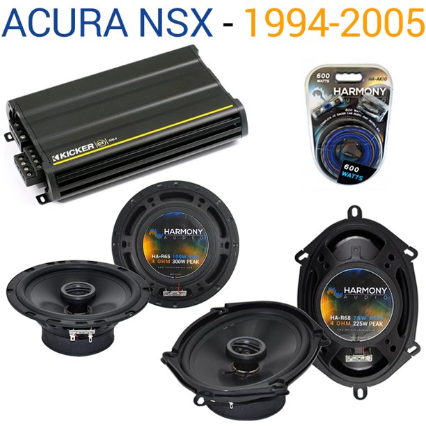 Acura NSX 1994-2005 Factory Speaker Replacement Harmony R5