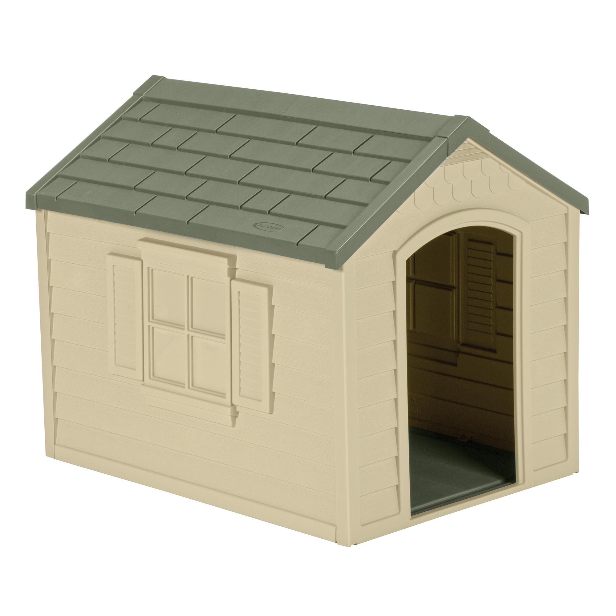Suncast Deluxe Dog House Dh250