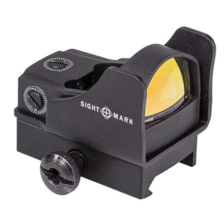 Sightmark Mini Shot Pro Spec Reflex Sight with Riser Mount - (Best Affordable Reflex Sight)