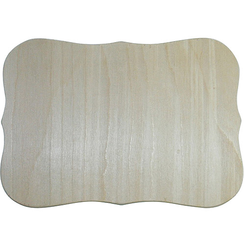"MPI Unfinished Wood Baltic Birch Plaque, Roman, 7.5"" x 10.5"" by Mpi"